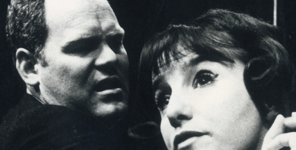 Malcolm Robertson with Elaine Cusick in Joe Egg (1968)