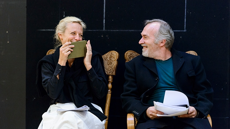 A Doll's House, Part 2 in rehearsal