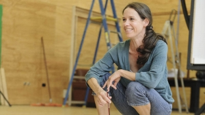 Kate Atkinson in rehearsals