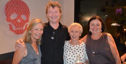 Jan Nolan, Simon Phillips, Pat Burke, and Julie Burke