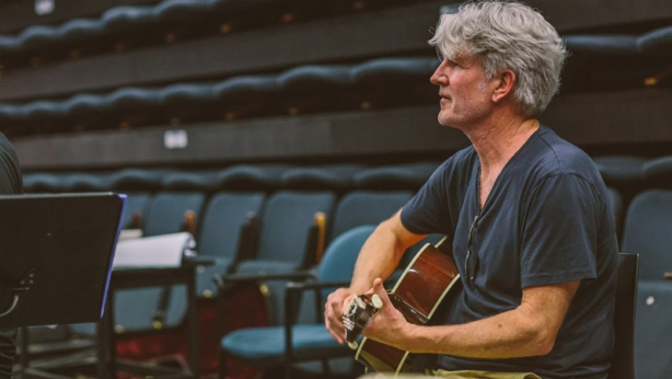 Tim Finn in Ladies in Black rehearsals