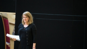 Susan Prior in rehearsals
