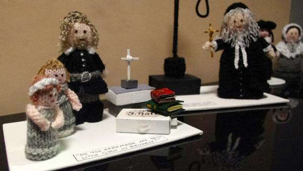 Reverend John Hale and Judge John Hathorne