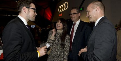Guests at the Audi Opening Night of 'The Heretic' (2012)
