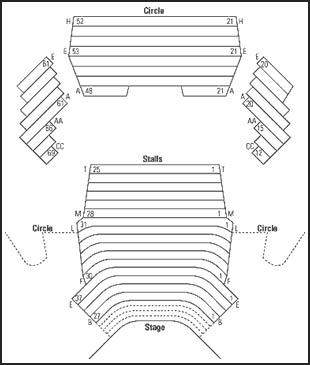 playhouse seating plan melbourne