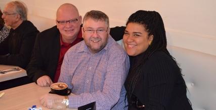 Tony Hillary, Warwick Eddington and Candy Bowers