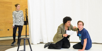 Lilith: The Jungle Girl in Rehearsal | Image by Deryk McAlpin