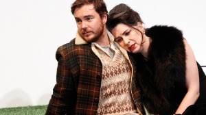 Toby Truslove and Pamela Rabe in 'The Cherry Orchard'