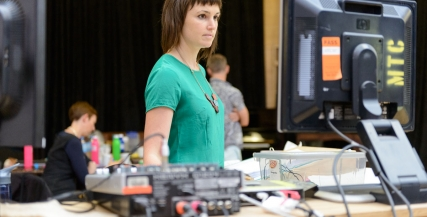 WiT pic | Julia Smith in rehearsals