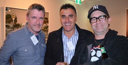 Peter Houghton, Sam, and Grant Piro