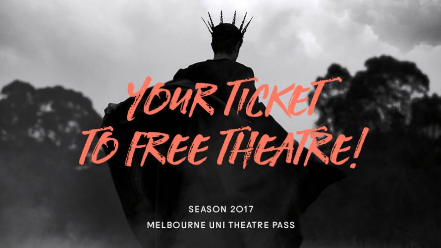Melbourne Uni Theatre Pass