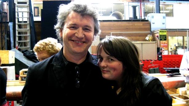 Simon Phillips and Martina Murray