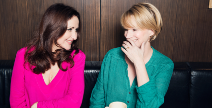 Marina Prior and Jane Turner will star in Jumpy, which kicks off our 2015 Season.