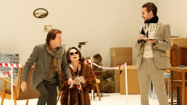 Robert Menzies, Pamela Rabe and David Paterson (Image: Jeff Busby)