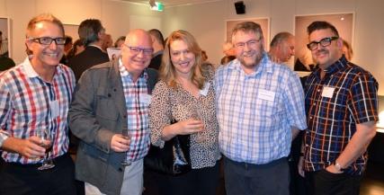 Andrew Buchanan, Tony Hillery, Heidi Arena, Warwick Eddington, Michael Bowden