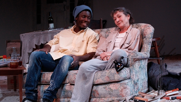 Pacharo Mzembe and Gillian Jones in Solomon and Marion