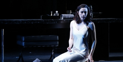 Geraldine Hakewill as Lady Macbeth