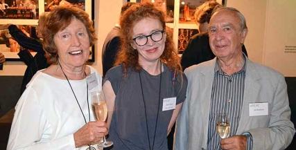 Jillian Buchanan, Alison Whyte and Ian Buchanan