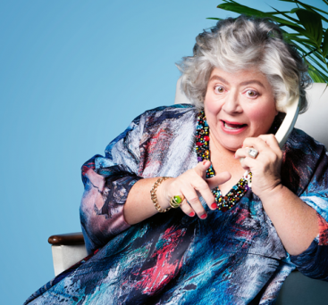 Miriam Margolyes in I'll Eat You Last
