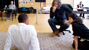 'The Mountaintop' in rehearsal