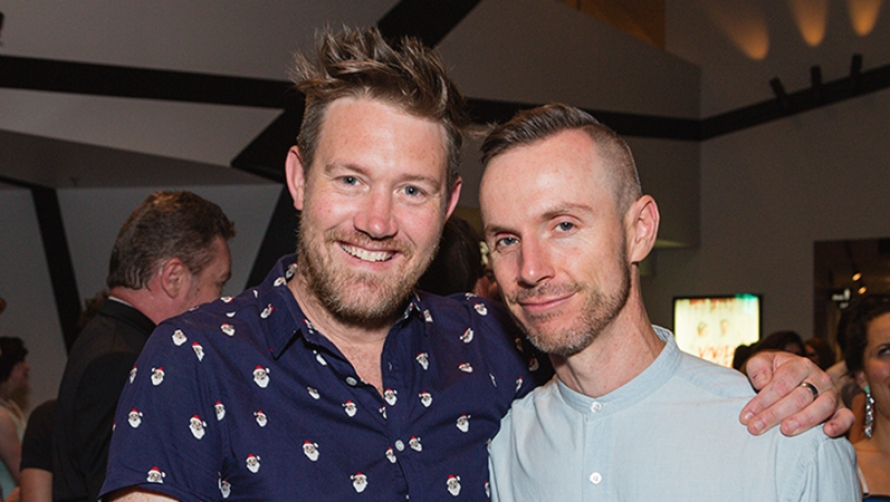 Eddie Perfect and Dean Bryant