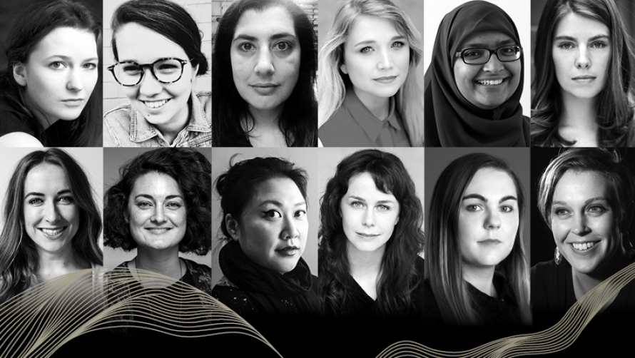 2018 Women in Theatre participants