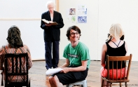 'The Book of Everything' rehearsals (Belvoir 2009)