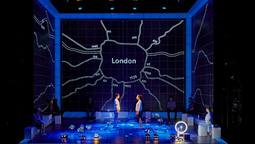 The Curious Incident train