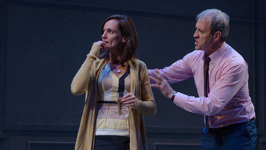 Catherine McClements and David Roberts in The Other Place