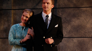 Lucy Durack and Leon Ford in 'Private Lives'