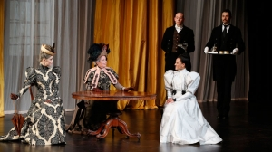 An Ideal Husband on stage