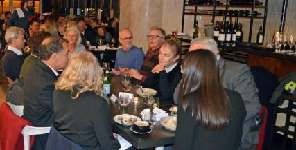 The House of Bernarda Alba post-show dinner