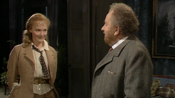Miranda Richardson and Leo McKern in the BBC Theatre Night production of 'The Master Builder'