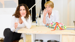 Marina Prior and Jane Turner in rehearsals