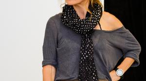 Caroline Brazier in rehearsal