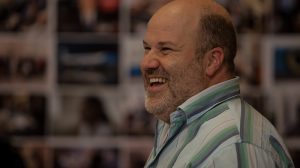 David James in rehearsals for The Speechmaker at MTC