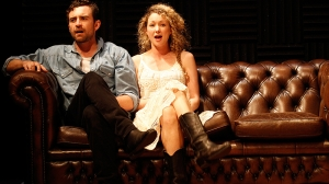 Johnny Carr and Sophie Ross in What Rhymes with Cars and Girls