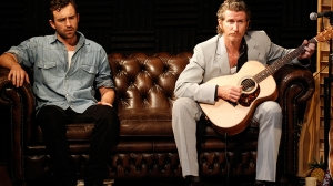 Johnny Carr and Tim Rogers in What Rhymes with Cars and Girls