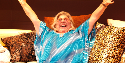 Miriam Margolyes in 'I'll Eat You Last' (MTC 2014)