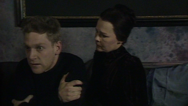 Kenneth Branagh and Judi Dench in the BBC Theatre Night production of 'Ghosts' (1987)
