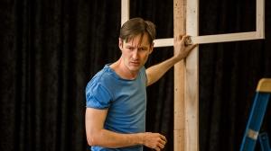 Luke Mullins in rehearsals