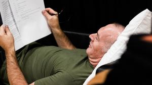 Greg Stone in rehearsal