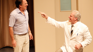 Greg Stone and William McInnes in The Waiting Room at MTC