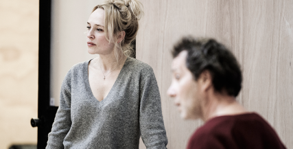Susie Porter in rehearsal