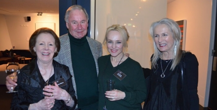 Christine Williams, Price Williams, Susie Porter and Jenny Jeffries