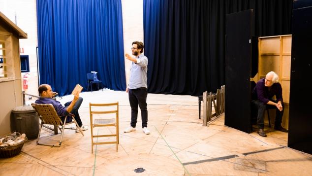 Jasper Jones in rehearsal