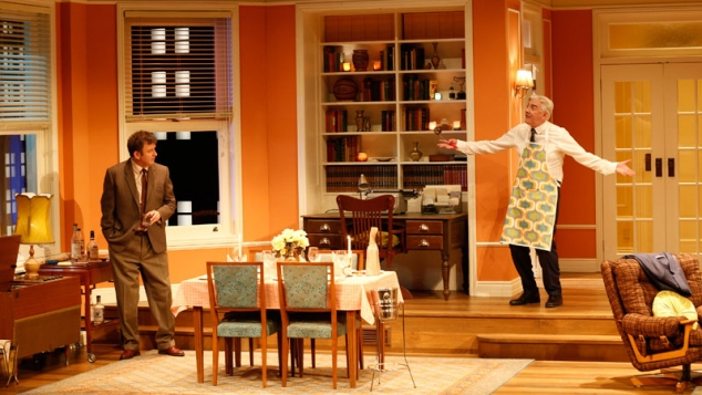 The Odd Couple on stage