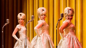 Three female singers in One Man, Two Guvnors