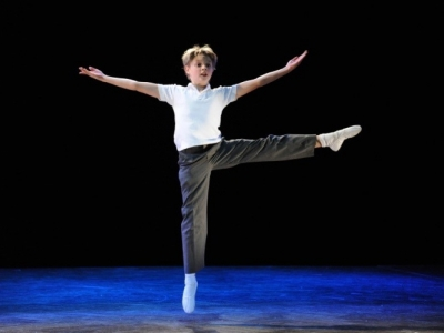 Josh Gates playing Billy Elliot in the Australian Production of Billy Elliot the Musical. Photo by James Morgan.