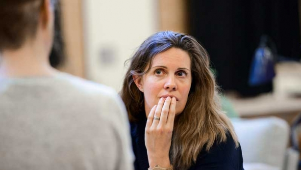 Katherine Tonkin in rehearsals
